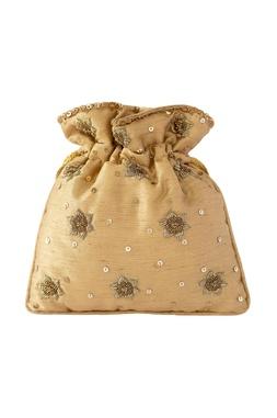 Zardozi Embroidered Potli Bag