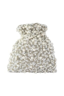 Pearl Embellished Ethnic Potli bag