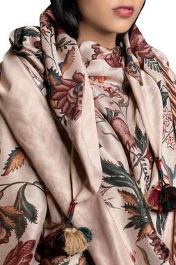 Floral Print Chintz Stole