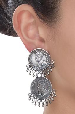 Coin Dangler Earrings