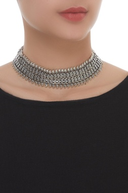 Baroque HandCrafted Choker Necklace
