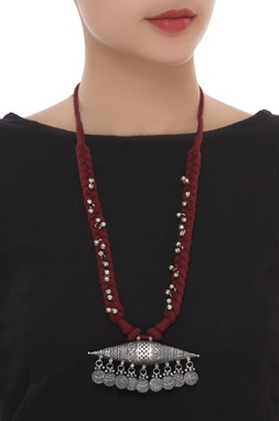 Ghungroo Long Pendant Necklace