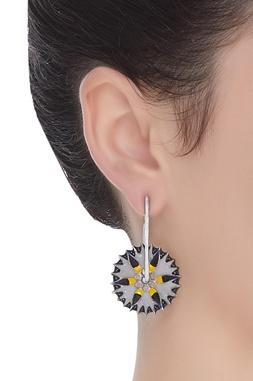 Handcrafted Meena Earrings