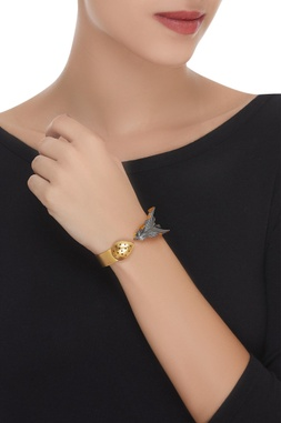 Leaf & Drop Adjustable Cuff