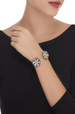 Flower Adjustable Cuff