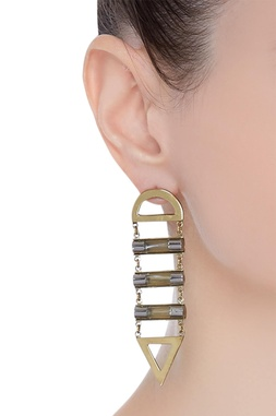 Fuse ladder earrings