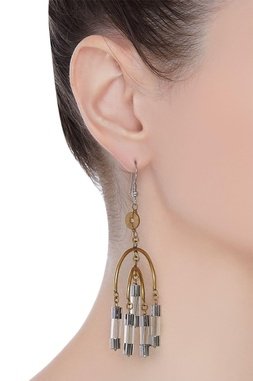 Chandelier long earrings