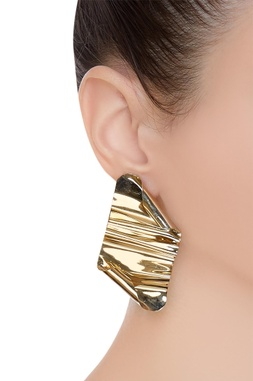 Industrial art inspired earrings
