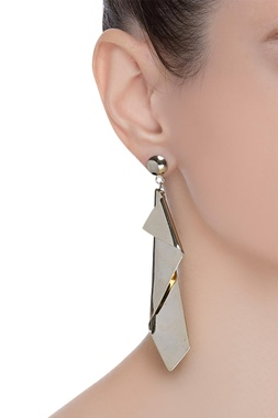 Modern day sculptural earrings