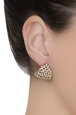 Embellished stud earrings