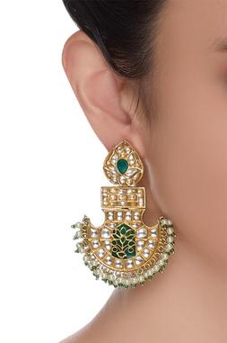 Mughal Kundan Earrings