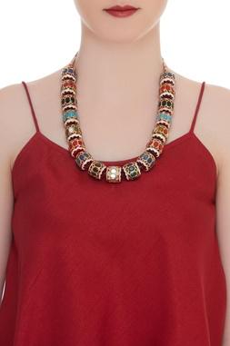 Dholak princess necklace