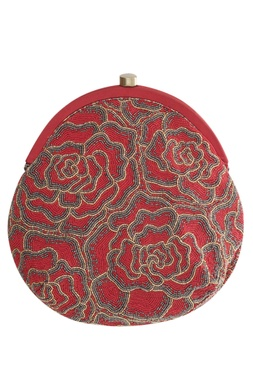 Bead Embroidery Ombre Effect Clutch