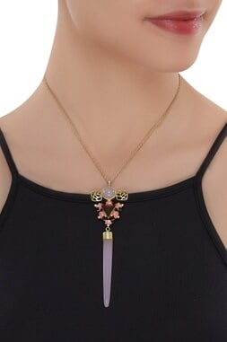 Ornate Sphinx Necklace