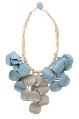 Statement biodegradable necklace