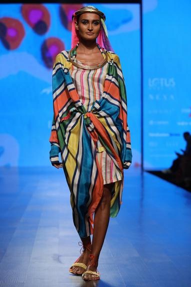 Kimono Cape and Slip Dress