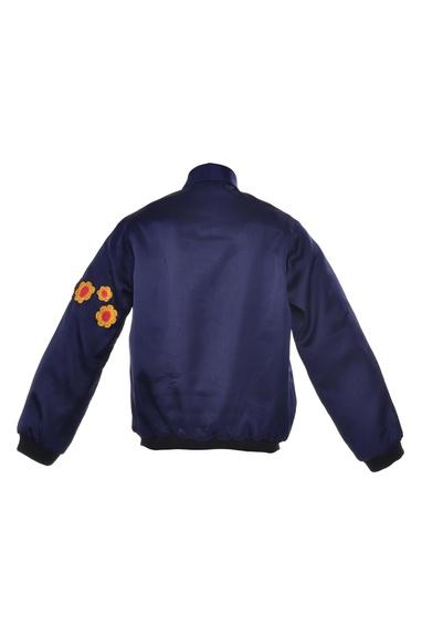 Cockatoo embroidered Bomber Jacket