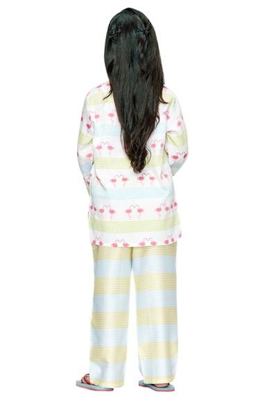 Flamingo Printed Pyjama Set