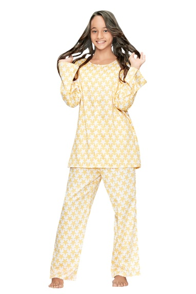 Star Printed Night Suit Set