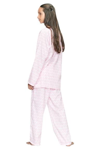 Heart Printed Pyjama Set