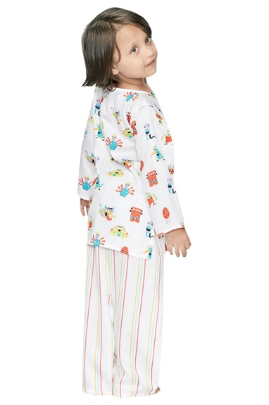 Monster Print Pyjama Set