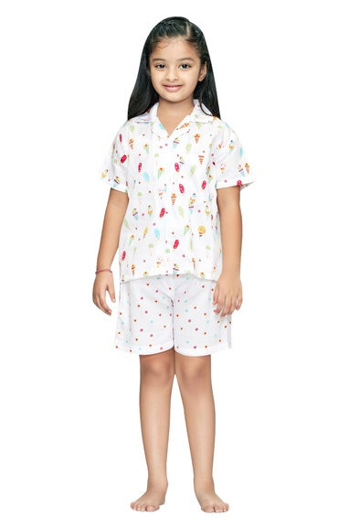 Candycone Girls Night Suit Set