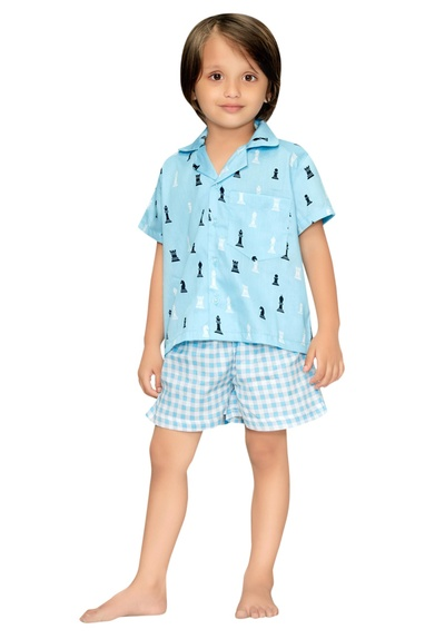 Chess Boys Night Suit Set