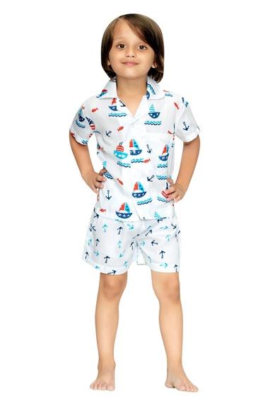 Nautical Boys Night Suit Set