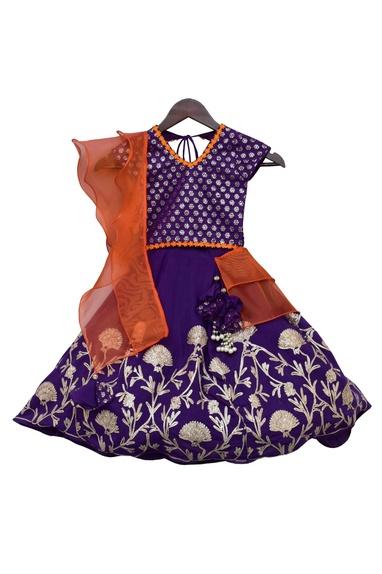 Gota Embroidered Lehenga Set