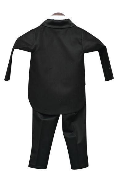 Lapel Collar Tux With Pant & Shirt