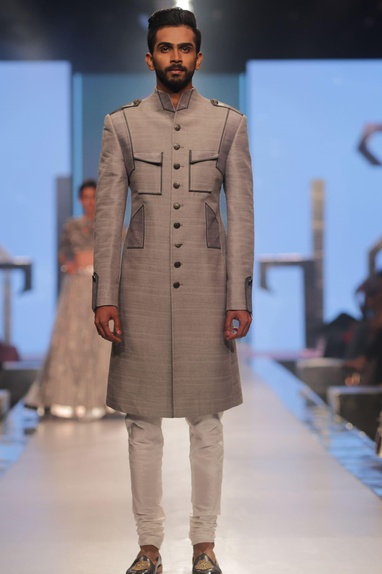 Sherwani and churidar set