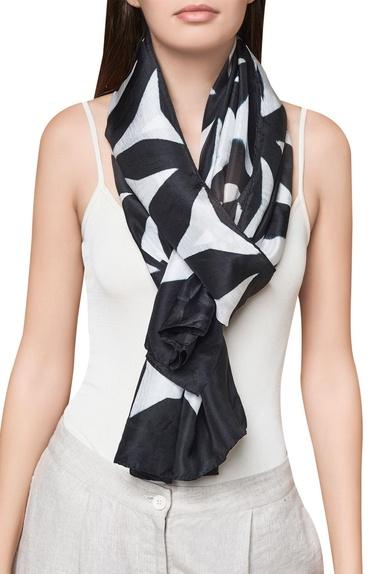 Pure silk handwoven scarf