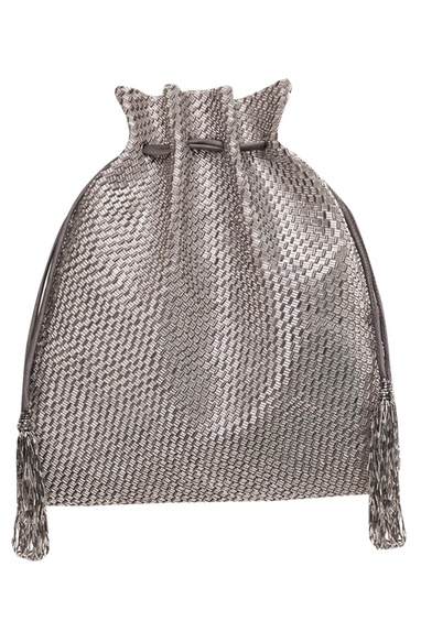 Japanese Bugle Bead Embroidered Potli