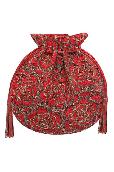 Embroidered Potli Bag