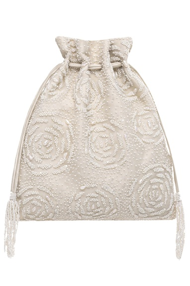 Bead & Sequin Embroidered Potli