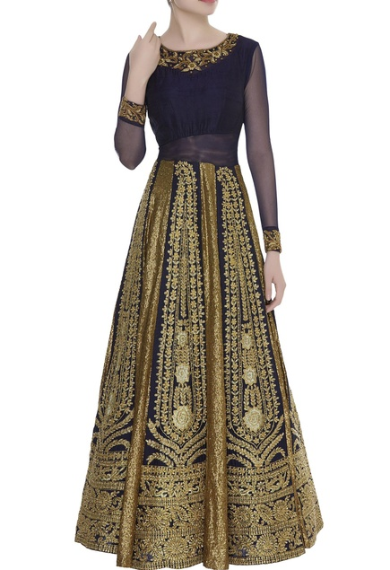 Zardozi Embroidered Gown