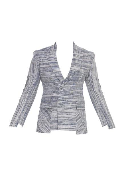 Khadi blazer jacket