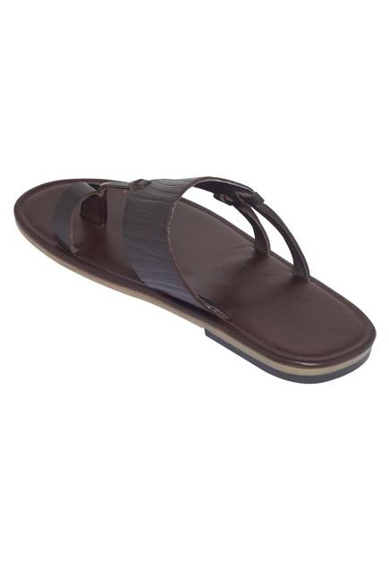 Textured strap sandals