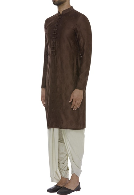Embroidered full sleeves kurta