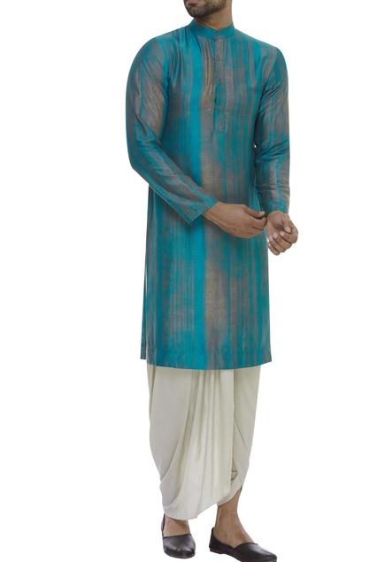 Striped full sleeves kurta