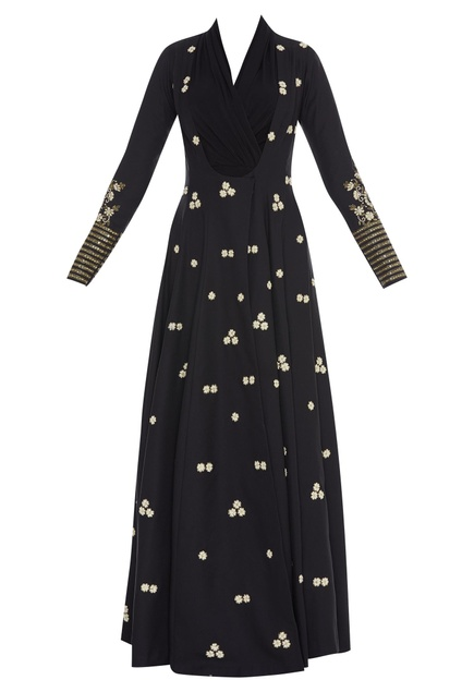 Anarkali Jacket Style Embroidered Gown