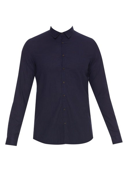 Back Box pleat detail shirt