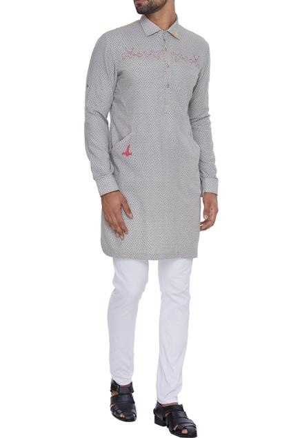 Printed cotton kurta