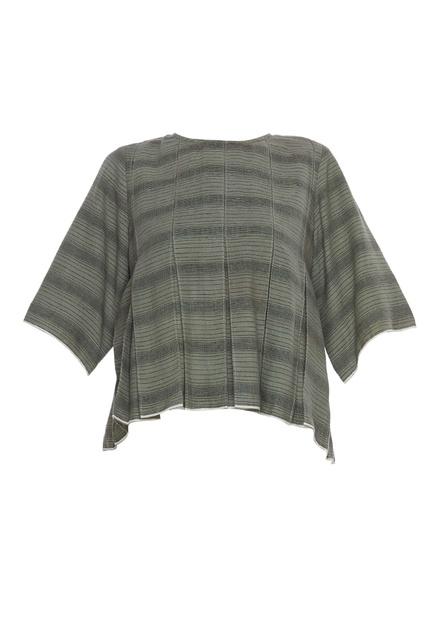 Khadi peplum blouse