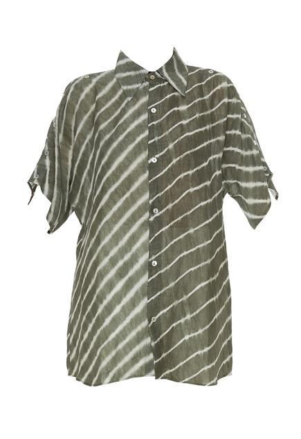 Linen leheriya oversized shirt