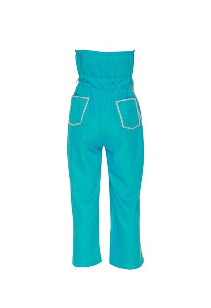 Off shoulder jumpsuit with belt