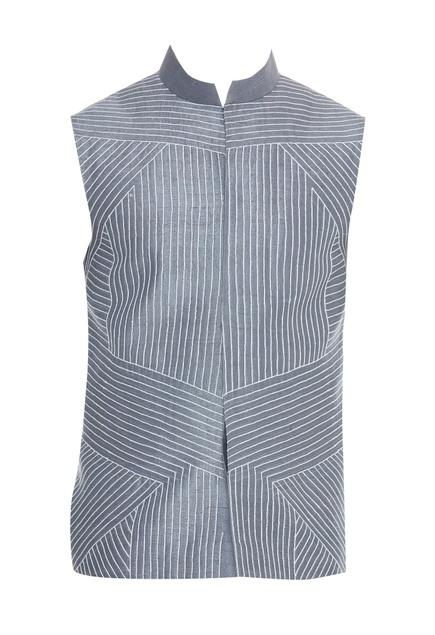 Striped straight bundi
