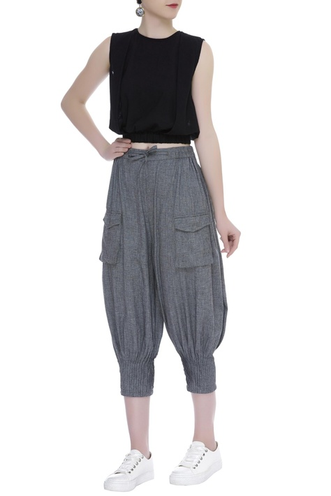 3/4th Front patch pocket pants