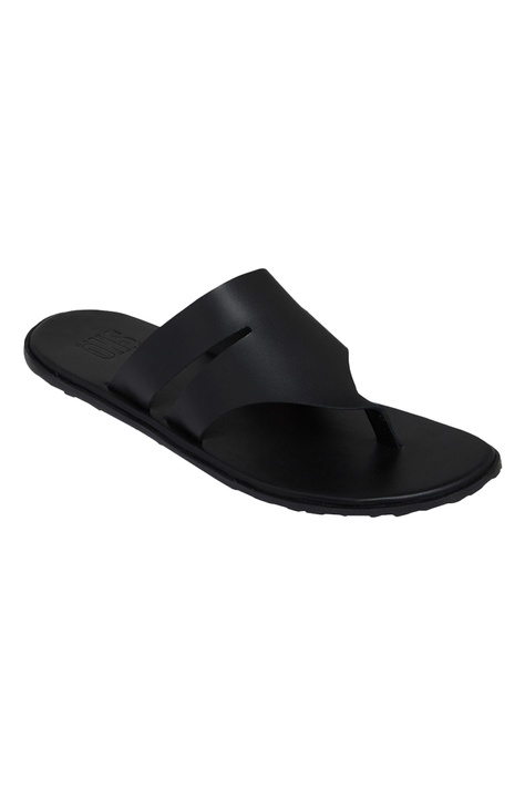 slip on  style cut-out sandals