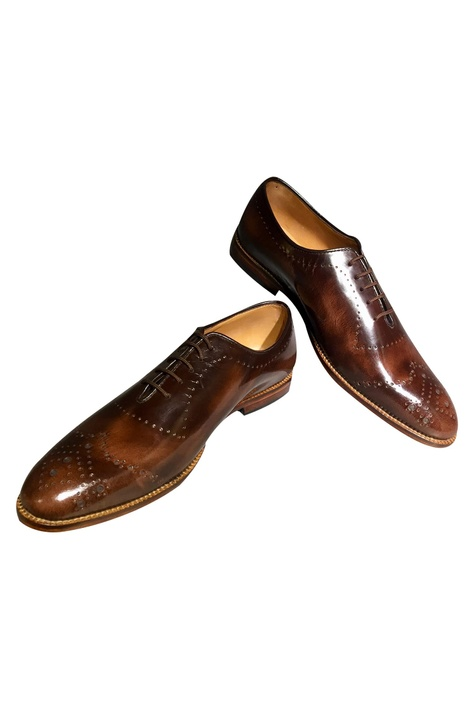 Lace Tie Up Brogues